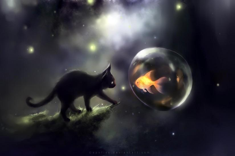 Funny Space Cat Wallpaper Wide 1c4 2560x1600 Px 14489 KB Cute