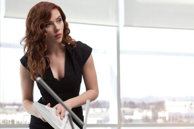 Scarlett Johansson as Natasha Romanoff/Black Widow - Iron Man 2