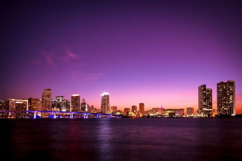 Fine Backgrounds Collection: Miami Florida Desktop Wallpapers