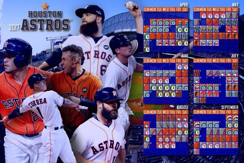 2017 Houston Astros Calendar