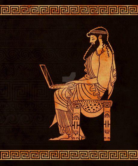 Ancient Greek Wallpaper ①