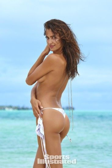 Irina Shayk was photographed by Yu Tsai in The Islands Of Tahiti. Swimsuit  by INDAH