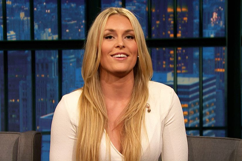 Watch Late Night with Seth Meyers Interview: Lindsey Vonn Talks Dating  Tiger Woods - NBC.com