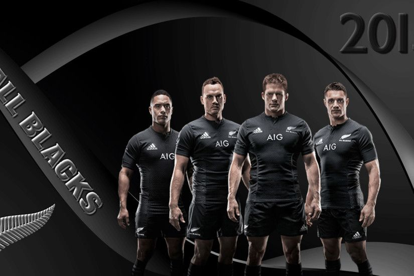 New Zealand All Blacks rugby 2015