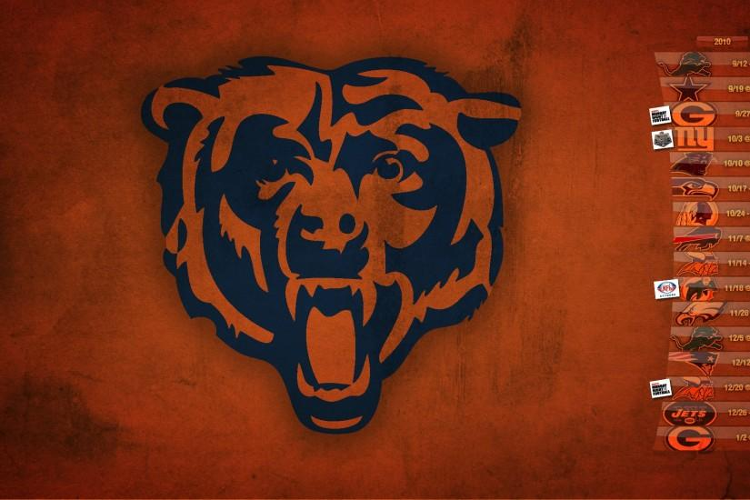 Background Collection Desktop Chicago Ultimate Orange Bears wallpaper