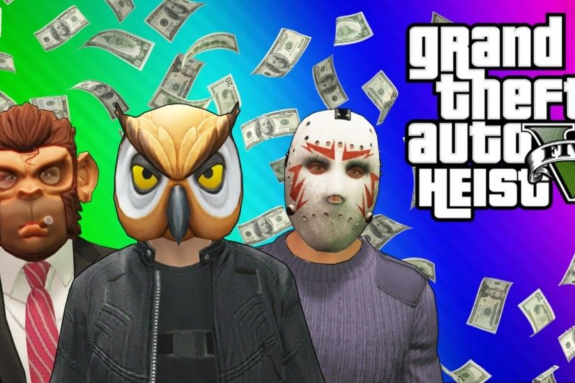 GTA 5 Heists #2 - Nogla's Outfits & Epic Car Chase! (GTA 5 Online Funny ...  | VanossGaming!! XD | Pinterest | Funny moments