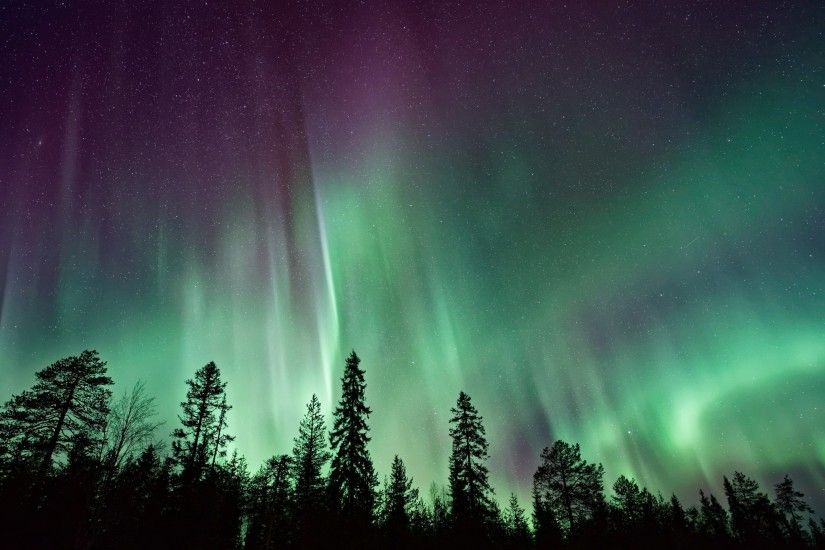 Nature / Northern Lights Wallpaper