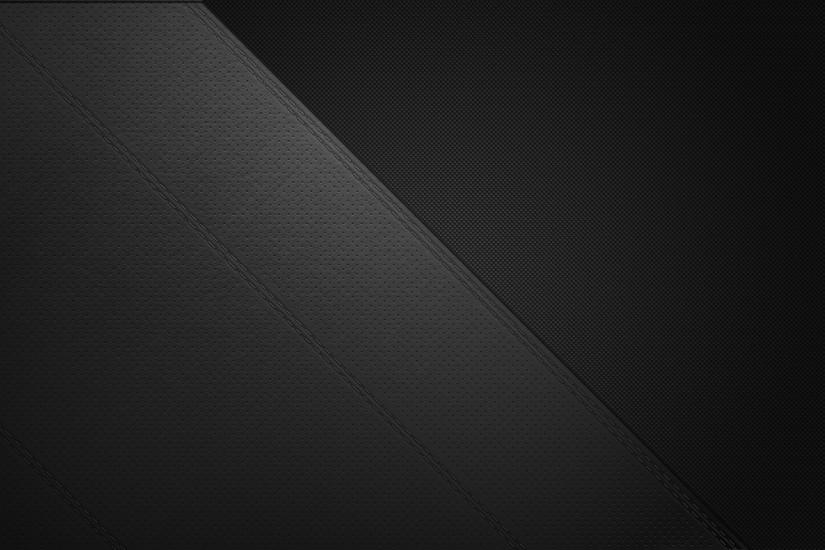 Abstract - Black Leather Wallpaper