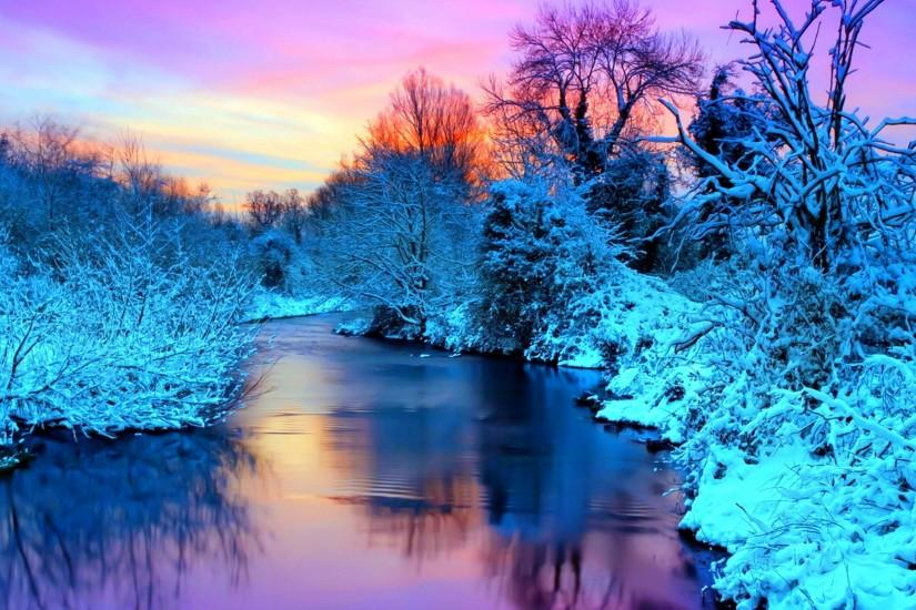 Scenic Winter High Resolution Wallpapers