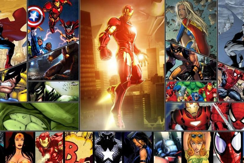 widescreen superhero background 1920x1080 for hd 1080p