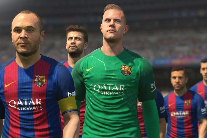 PES 2017 Partners With FC Barcelona for Exclusive Content