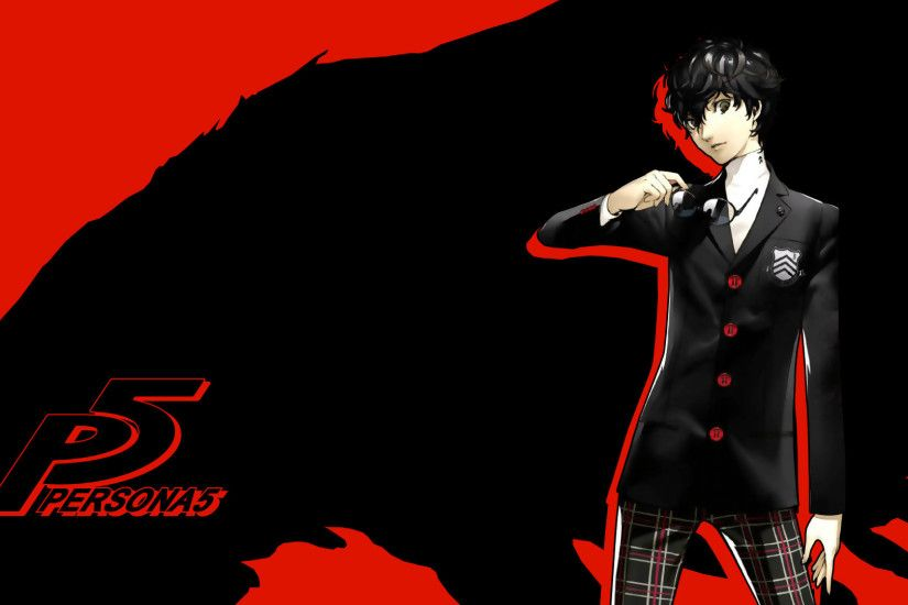 1920x1080 persona 5 wallpaper protagonist by seraharcana fan art wallpaper  games .
