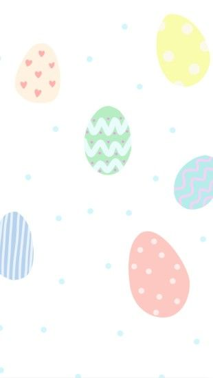 {Free Phone Wallpaper} April Easter Eggs