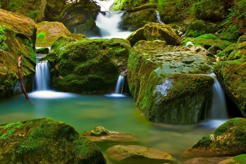 ... Beautiful Nature Wallpaper For Desktop 3d Waterfalls 15 Beautiful  Waterfall. Desktop 1024x768 Landscape Desktop Wps ...