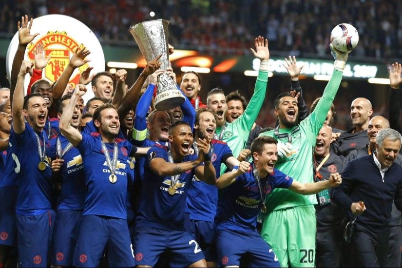Manchester United win Europa League trophy for first time | UK News | Al  Jazeera