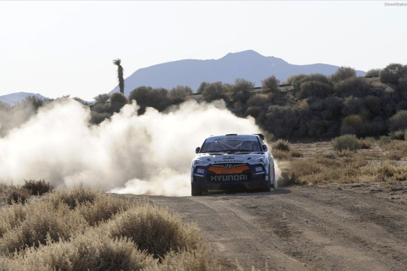 Hyundai Veloster Rally Car 2011