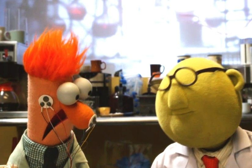 Flowers On The Wall | with Bunsen and Beaker | Muppets Music Video | The  Muppets - YouTube
