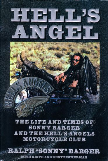 Book Cover Hell's Angel ...