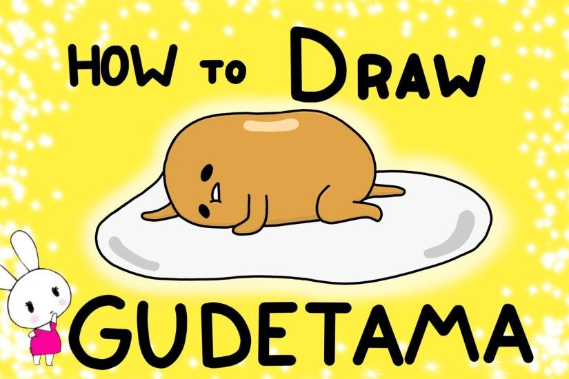 How to Draw Gudetama - Easy Tutorial