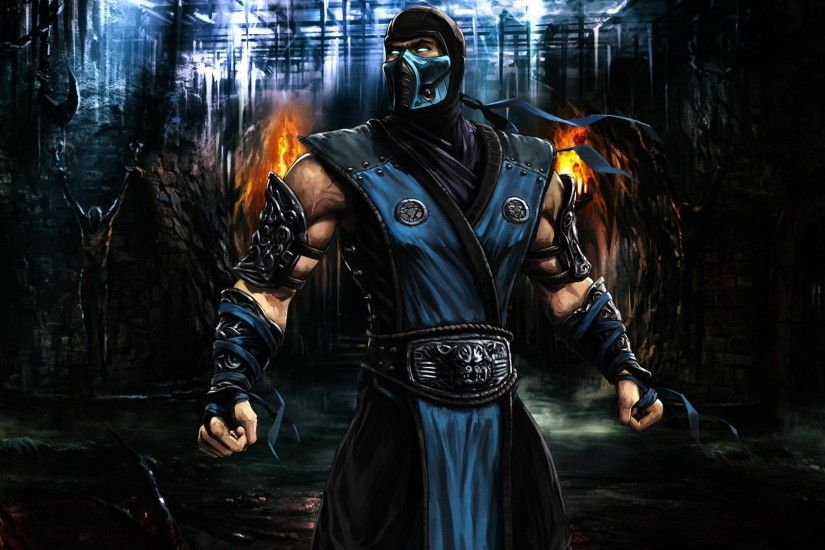 Mortal Kombat, Sub Zero, Video Games Wallpapers HD / Desktop and Mobile  Backgrounds