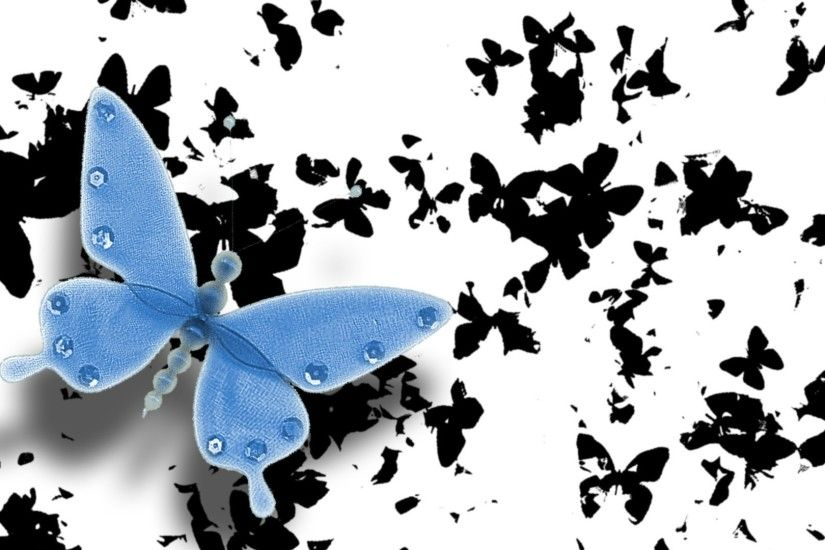 Butterfly Wallpapers Black by Timothy Uhlig #11
