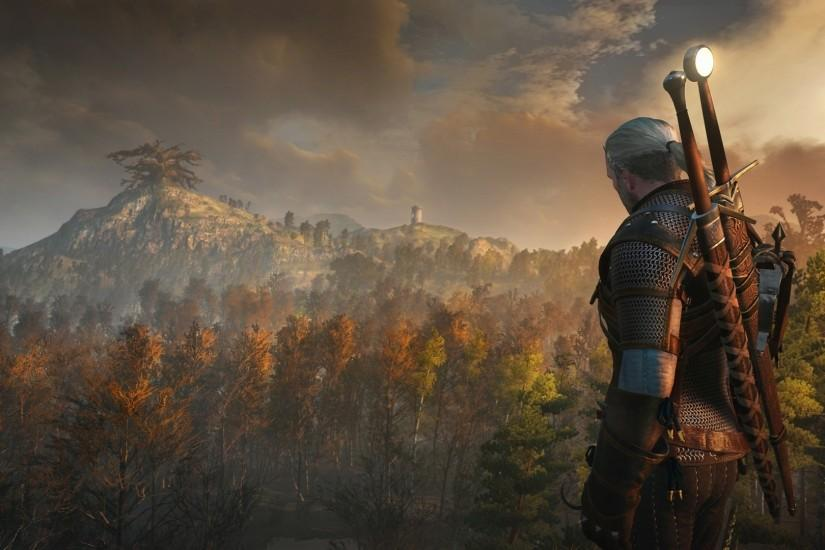 large witcher 3 wallpaper 1920x1080 laptop