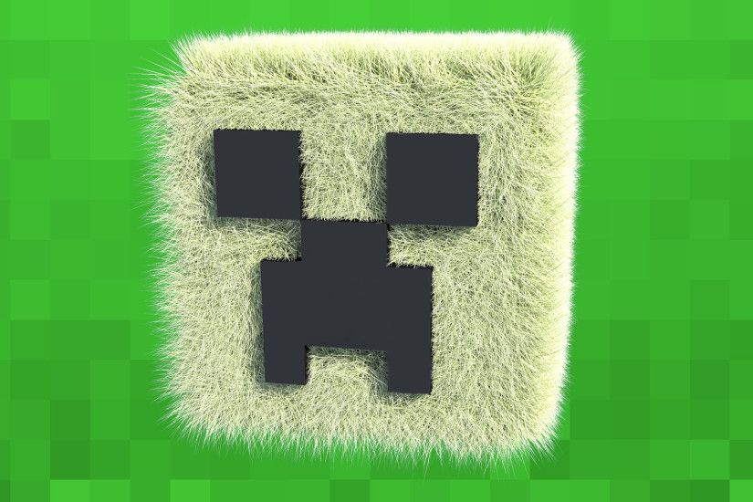 Minecraft Cool Creeper Wallpaper