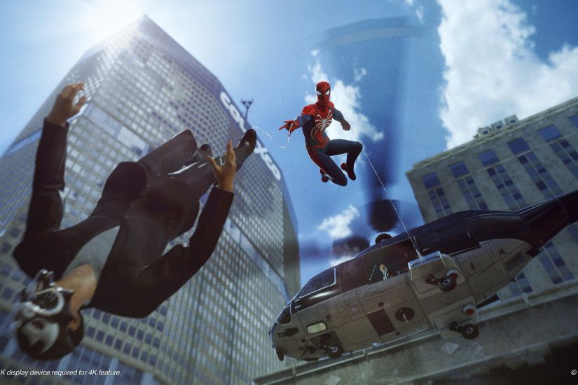 Spider Man Ps4 2018 Game Wallpapers 1080p HD Downloads
