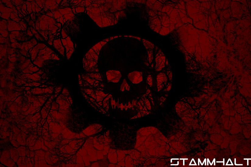 Gears Of War Wallpaper Hd Skull