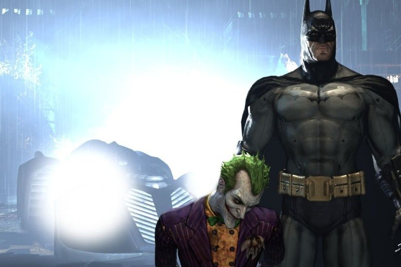 Batman, Joker, Batman: Arkham Asylum, Video Games, Rocksteady Studios  Wallpapers HD / Desktop and Mobile Backgrounds