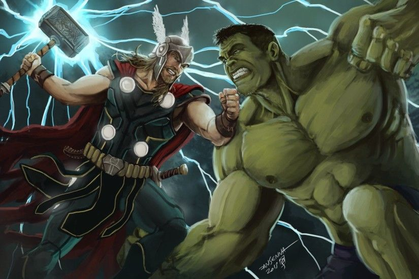 Daniel Senna - THOR vs HULK FIGHT