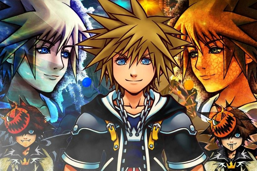 Wallpapers For > Kingdom Hearts Ii Wallpaper Widescreen