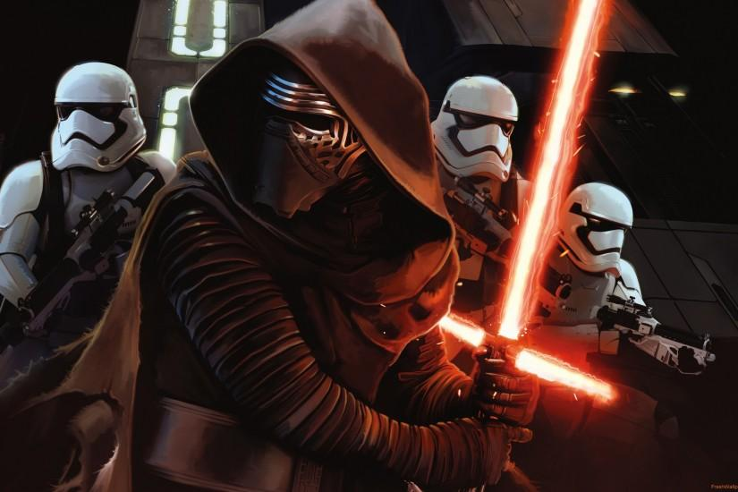 star-wars-episode-vii-the-force-awakens Wallpaper: 2560x1600