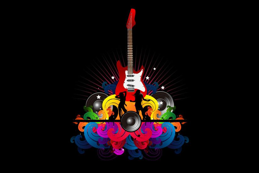 Abstract Guitar Wallpaper | Mobile Wallpaper | Phone Background ...