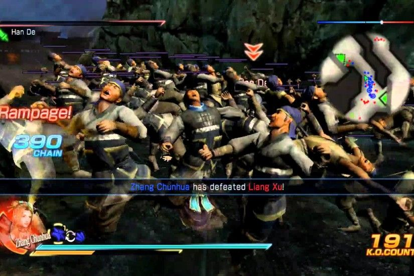 Dynasty Warriors 8 ALL Jin and Other KINGDOM CHARACTERS MUSOU AND RAGES -  YouTube