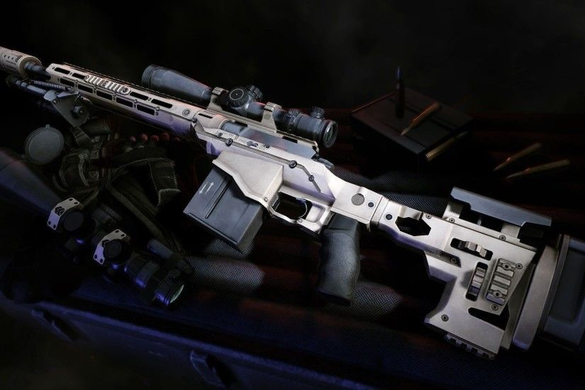 Photo Collection Sniper Rifle Art Wallpapers Barrett .50 Cal sniper rifle  by bewsii on DeviantArt ...