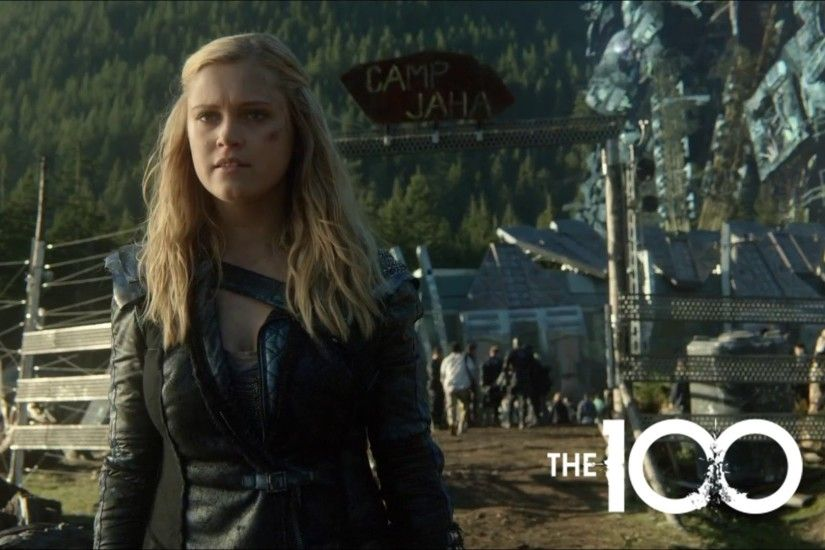 The 100 Season 2 Ending (Bellamy and Clarke) (1080p WEB DL)