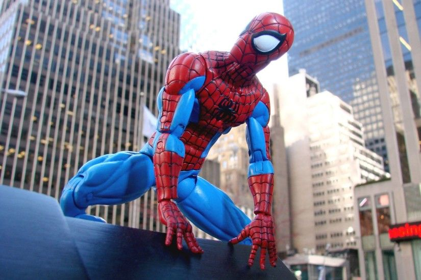 Disney Store Exclusive Spectacular Spider-Man Figure Marvel Select