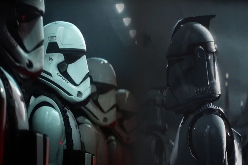 Battlefront 2 First Order, Clone Wars Wallpaper