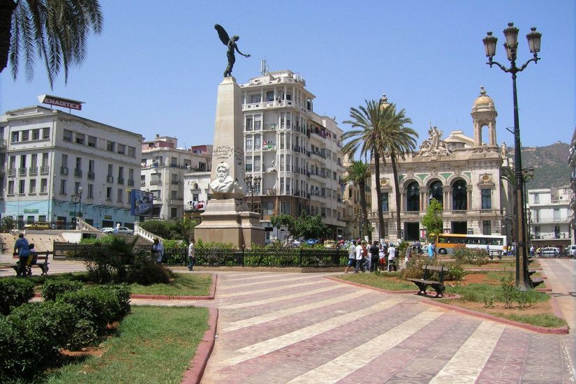 The Place of Armes in city of Oran Algeria