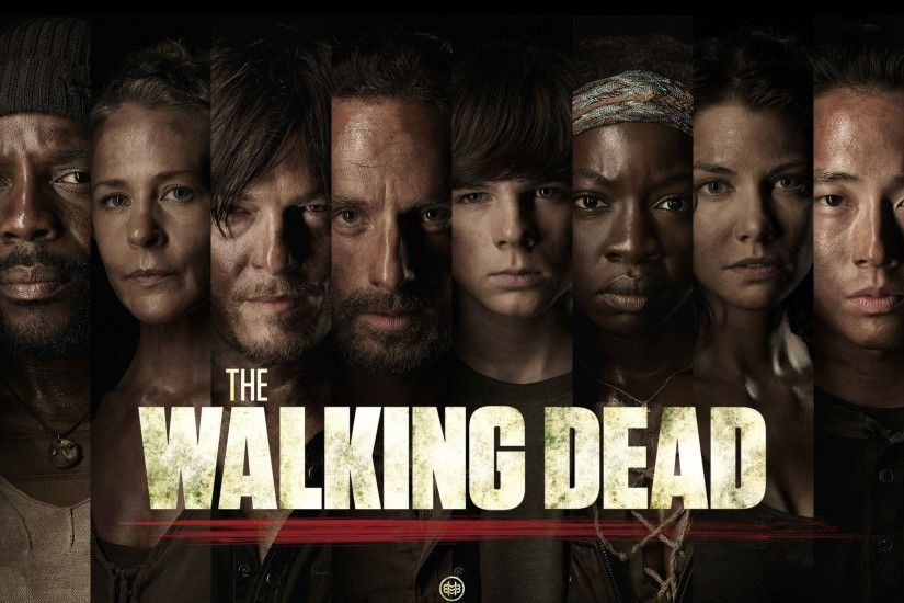 The Walking Dead Characters HD Wallpaper
