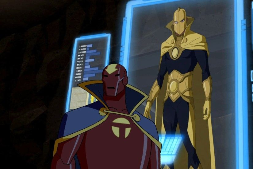 TV Show - Young Justice Dr Fate Doctor Fate Red Tornado Wallpaper