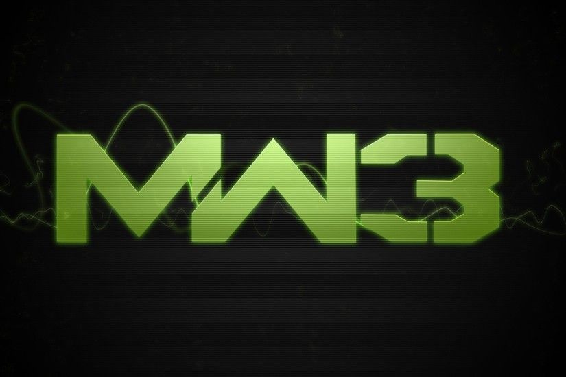 Preview wallpaper call of duty modern warfare 3, game, font, name, green