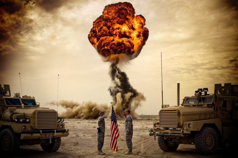 Download Army Explosions Wallpaper 2560x1600 | Wallpoper #257080