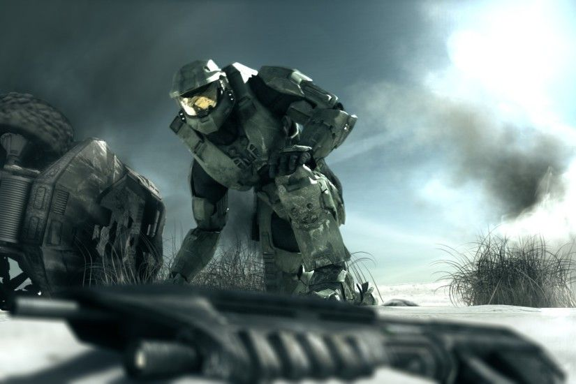 ... 62 Master Chief HD Wallpapers | Backgrounds - Wallpaper Abyss ...