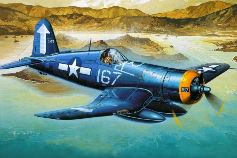 Vought F4U Corsair · HD Wallpaper | Background ID:384635