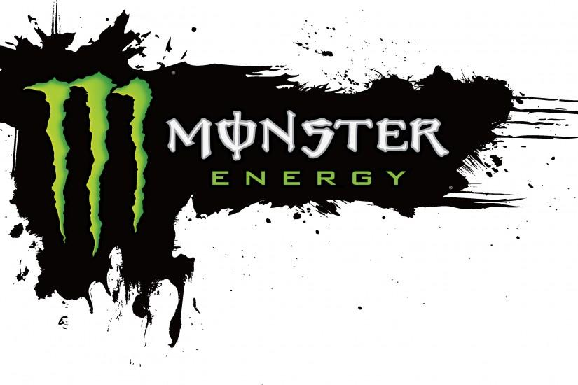 Wallpapers For > Monster Energy And Fox Racing Logo Wallpaper