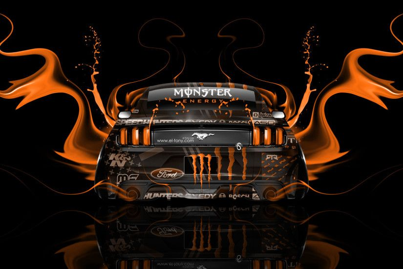 ... Monster-Energy-Ford-Mustang-Muscle-Back-Fire-Acid- ...