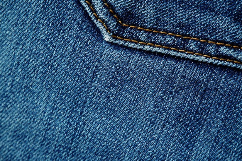 closeup detail of blue denim jeans, texture background 4K ProRes HQ codec