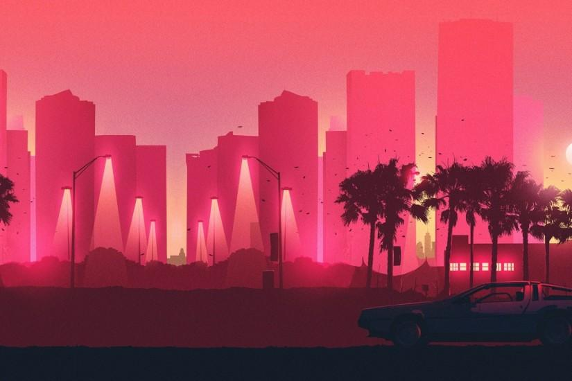 new synthwave wallpaper 1920x1080 ipad retina